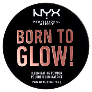 Lookfantastic | NYX Professional Makeup Born to Glow Illuminating Powder 5.3g (Various Shades) - Shylee Online Shop