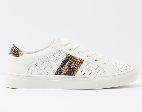American Eagle Snakeskin Perforated Sneaker - Shylee Online Shop