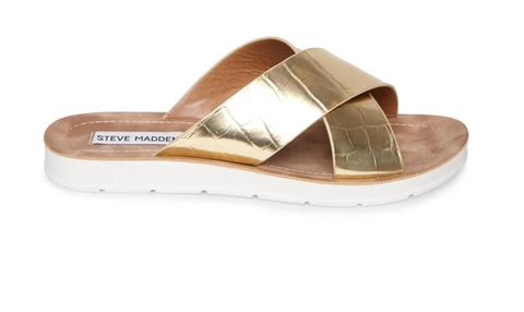 Steve Madden | SECCO GOLD CROCO - Shylee Online Shop