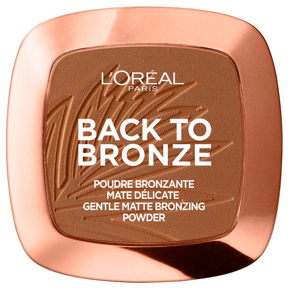 Lookfantastic | L'Oréal Paris Matte Bronzing Powder - Back To Bronze 9g - Shylee Online Shop