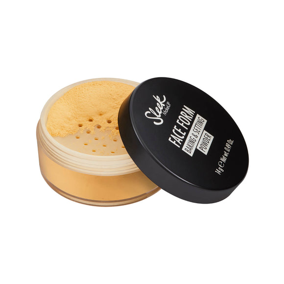 Lookfantastic | Sleek MakeUP Face Form Baking and Setting Powder - Banana - Shylee Online Shop