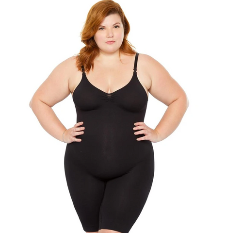 Metro Brazil | plus size body Bermuda corset sculpture shapewear by plie - Shylee Online Shop