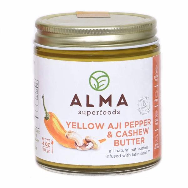 Yellow Aji Pepper & Cashew Butter