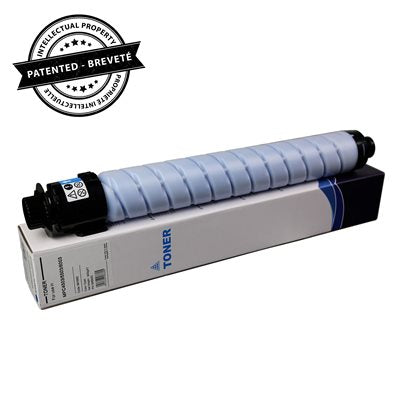 Ricoh compatible Toner cyan with chip 22.5K - PrintInk Canada