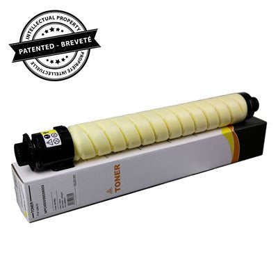 Ricoh compatible Yellow toner with 22.5K chip - PrintInk Canada