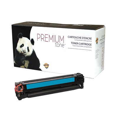 HP CF211A / Canon 131 Univers. Cyan Compatible Premium Tone - PrintInk Canada
