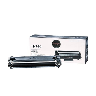 Brother TN760 Toner Compatible Premium Tone 3K - PrintInk Canada