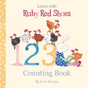 Ruby Red Shoes 123 Counting Book