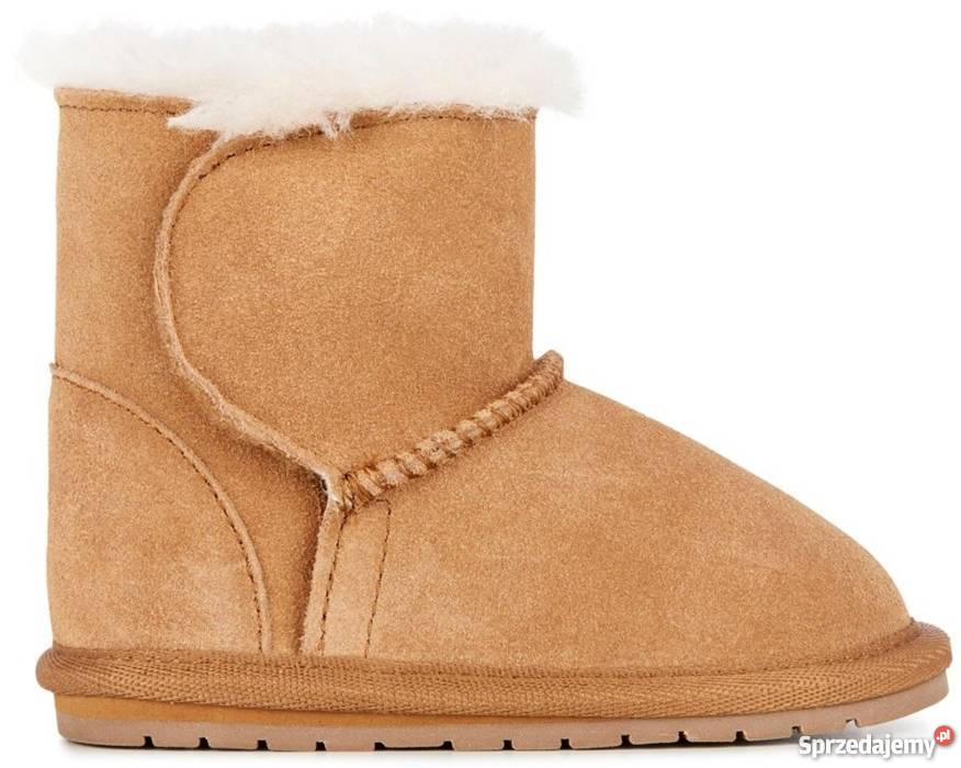 Toddle - Hardsole sheepskin boot - Chestnut