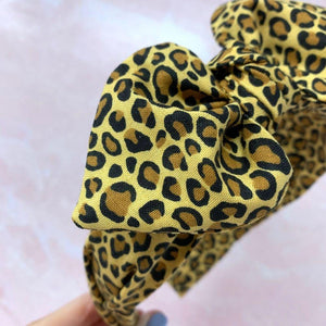 Cheetah Print Hairband