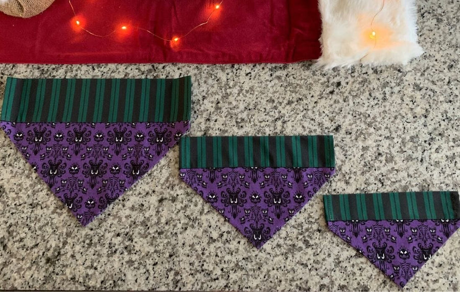 Ghost Host Pet Bandana