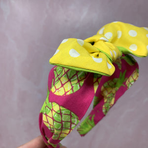 Pineapple Treat Hairband