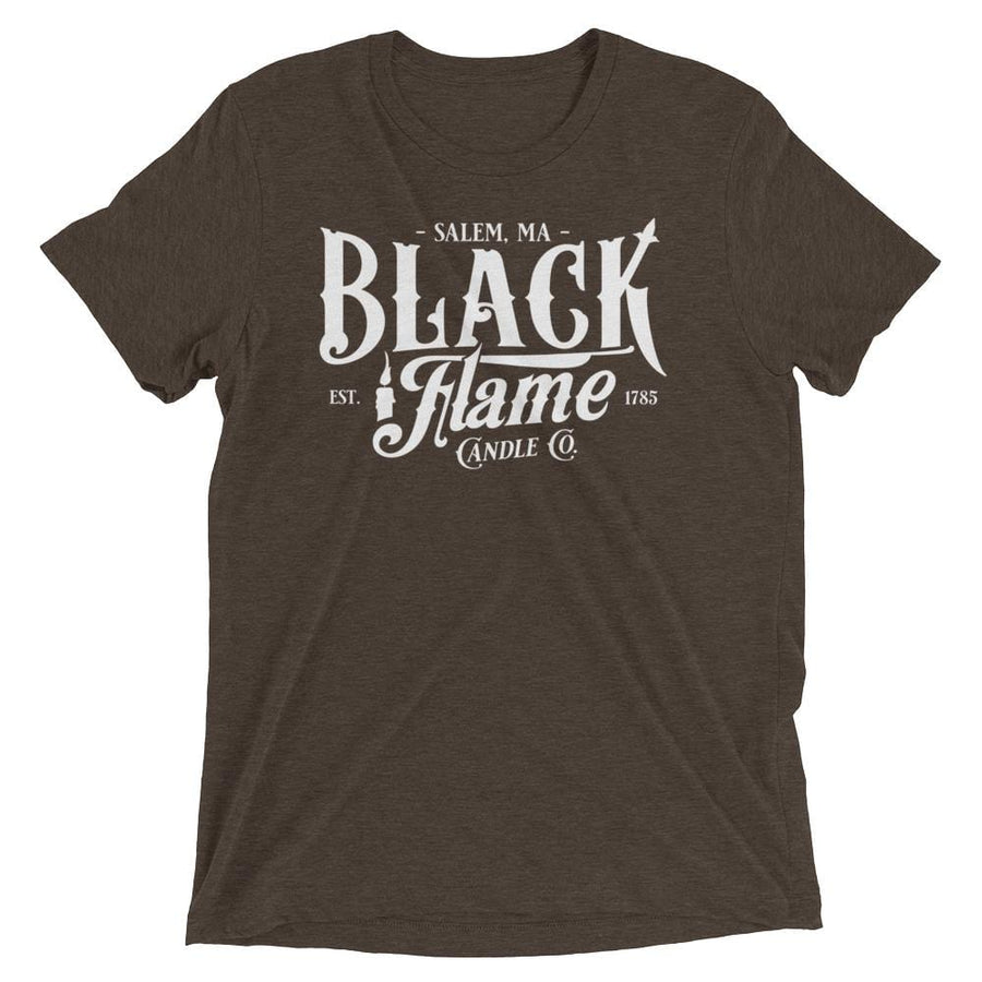 """Black Flame Candle Co"" Short Sleeve Unisex Tee"
