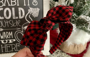 Buffalo Plaid (Small Check) Hairband