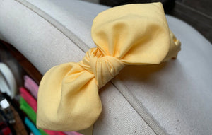 Pale Yellow Hairband