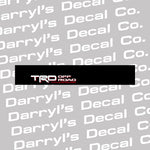 TRD Off Road Windshield Banner