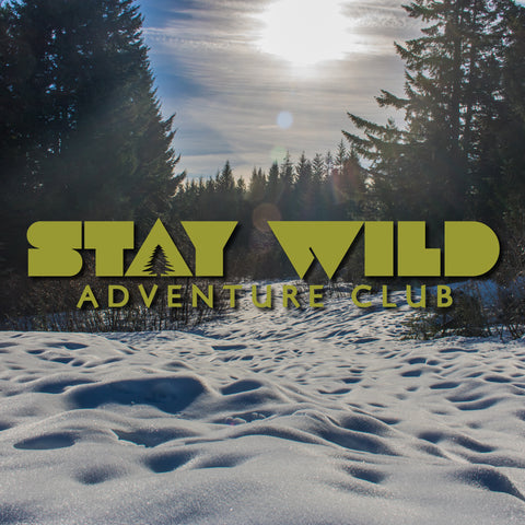 Stay Wild Adventure Club Decal