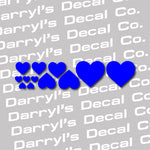 Heart Decal Kit