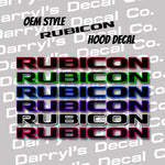 RUBICON Hood Graphic