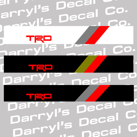 TRD Windshield Banner