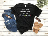 The One Where They Go To... Disney, Matching Friends Vacation Shirt