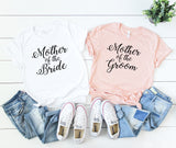 Mother Of The Bride Shirt, Mother Of The Groom Shirt, Bridal Party Shirts, Bachelorette Party Shirts, Getting Ready Shirt