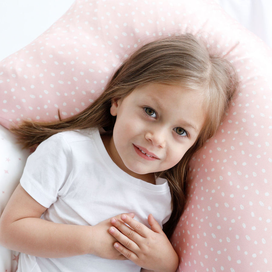 Silk Pillow Slip - Pink Sprinkles