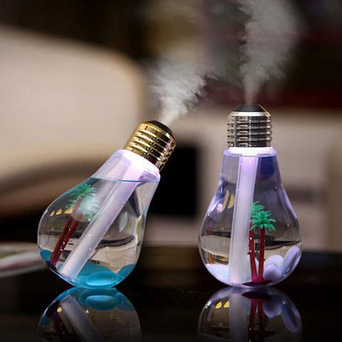 USB Essential Oil Diffuser and Humidifier with LED 400ml