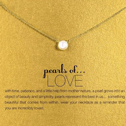 Pearl of Love Necklace