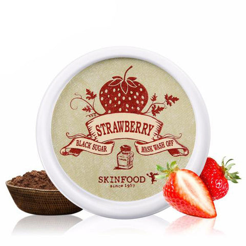 - Exfoliating Black Sugar and Strawberry Face Mask by Skin Food 100ml