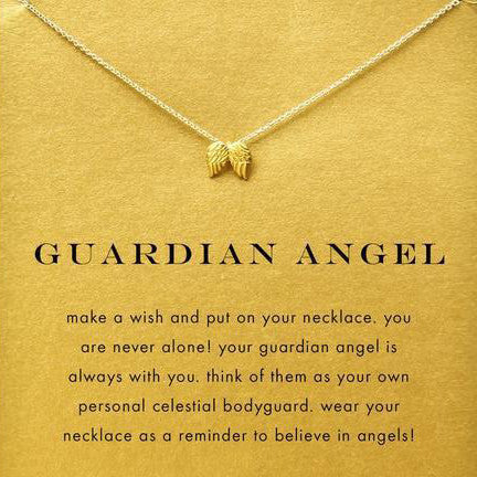 Guardian Angel Wings Necklace