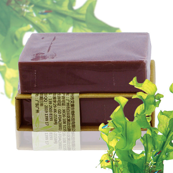 - Handmade Deep Sea Mineral Mud Soap with Shea Butter 100g