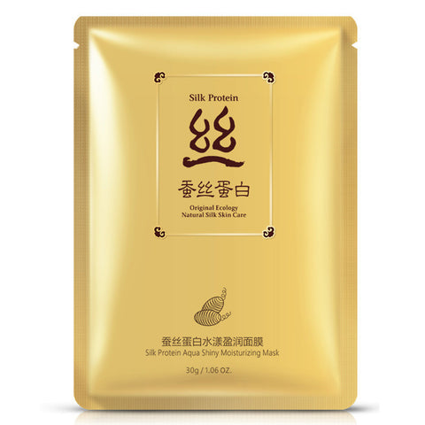 - Moisturizing Silk Protein Face Mask