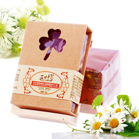 - Handmade Natural Chamomile Soap with Shea Butter 100g