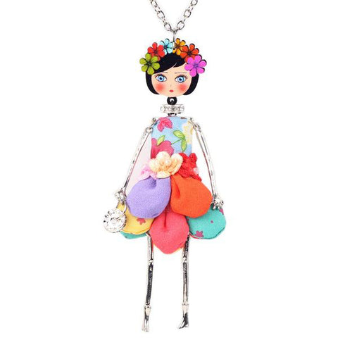 "Handmade ""Miss Fashionista"" Necklace"