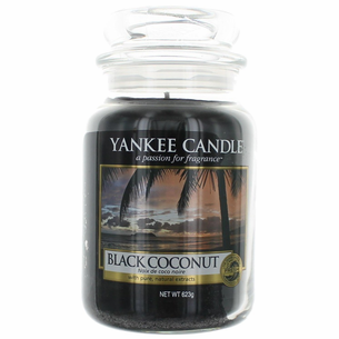 Yankee Candle Scented 22 oz Large Jar Candle - Black Coconut