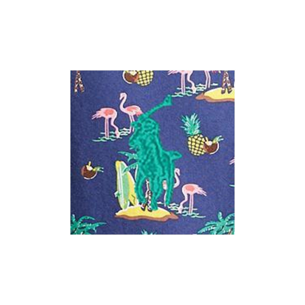 Polo-Ralph_lauren-Short-Sleeve-Oxford-Shirt-Multi-Flamingo-print