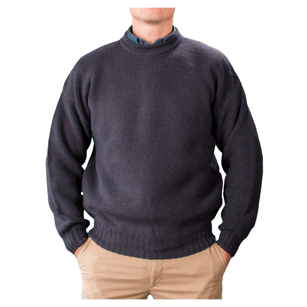 Pure-Wool-Crew-Neck-Navy