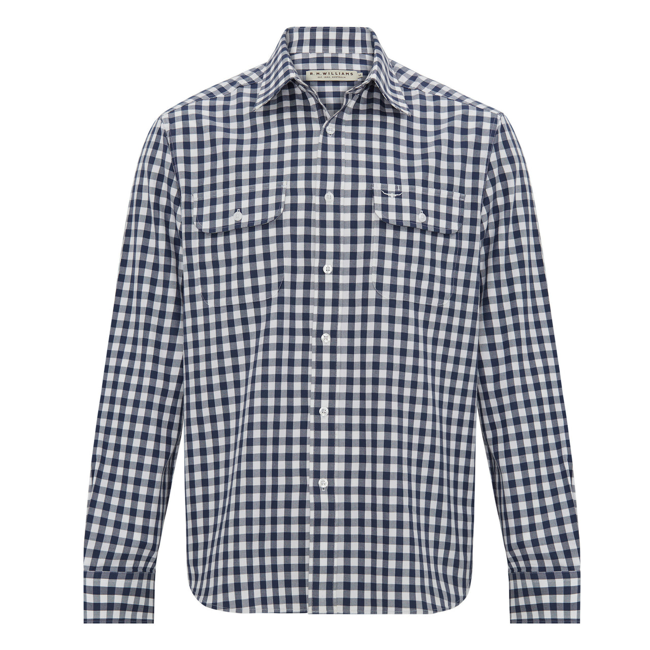 R-M-Williams-Bourke-Shirt-Navy