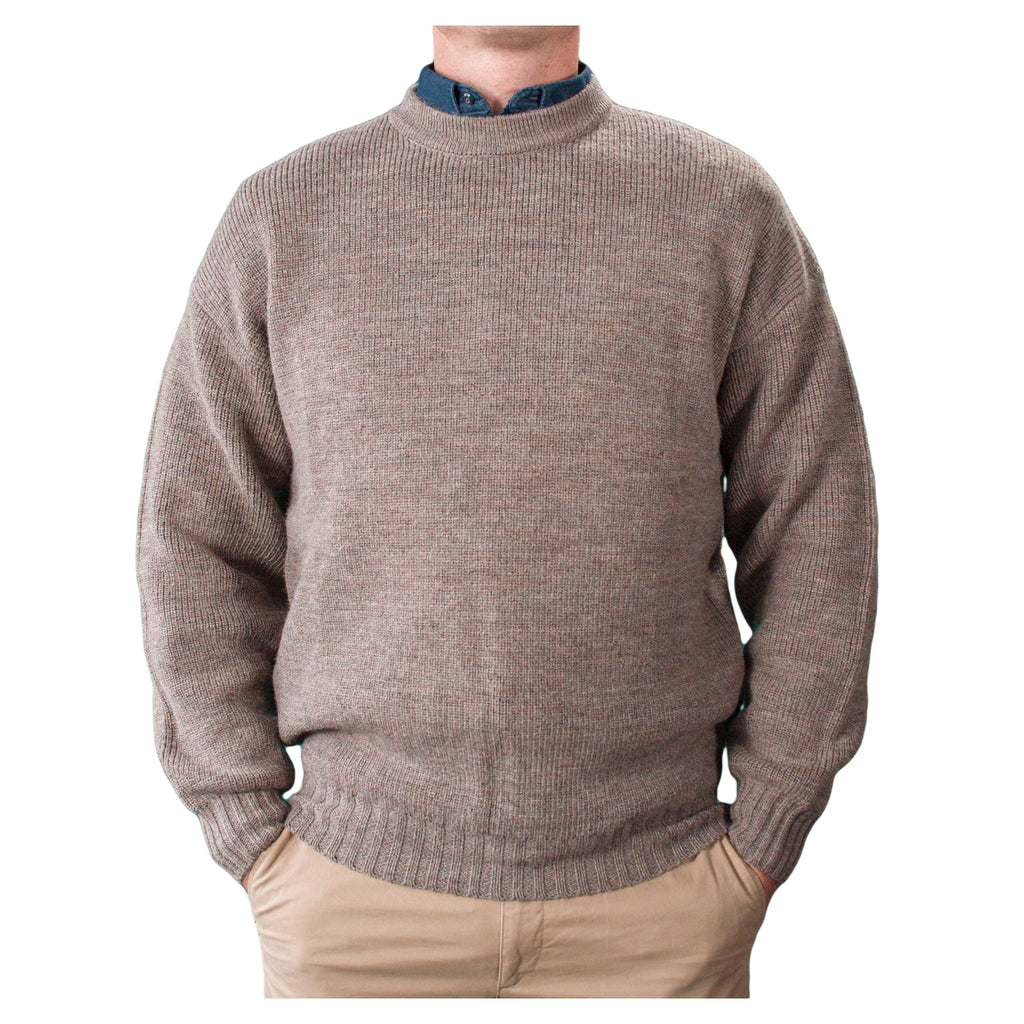 Pure-Wool-Crew-Neck-Wheat