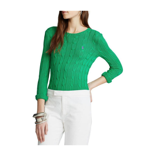 Polo-Ralph-Lauren-Cable-sweater-green