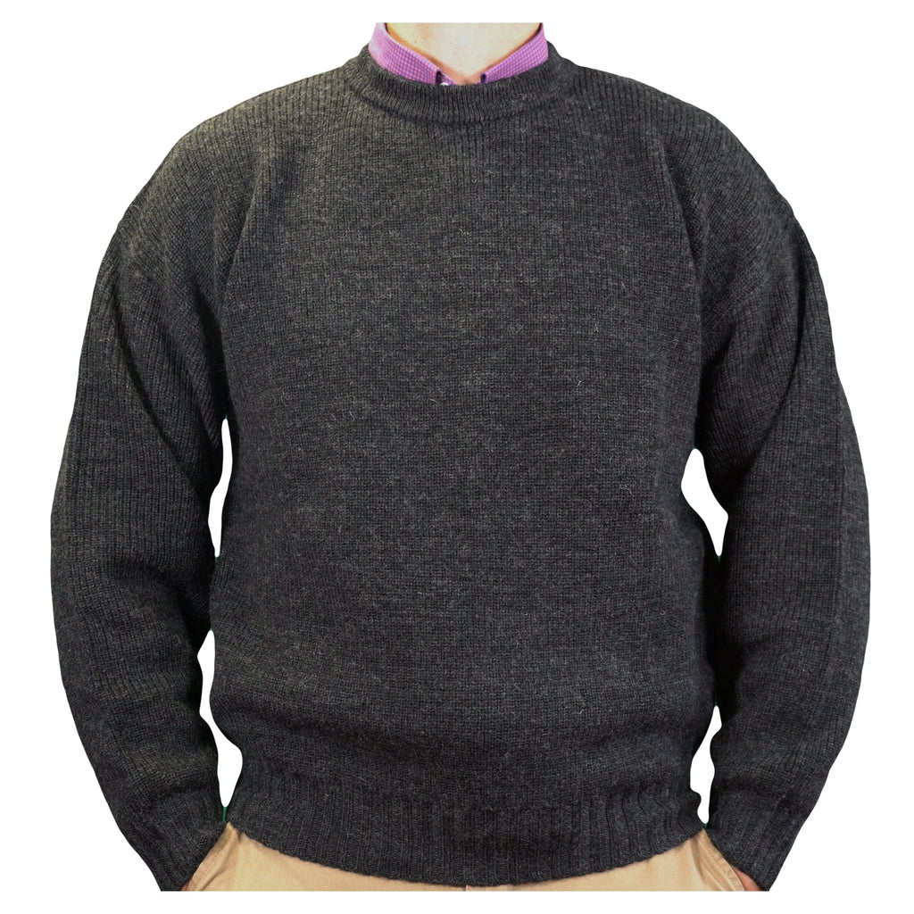 Pure-Wool-Crew-Neck-Charcoal