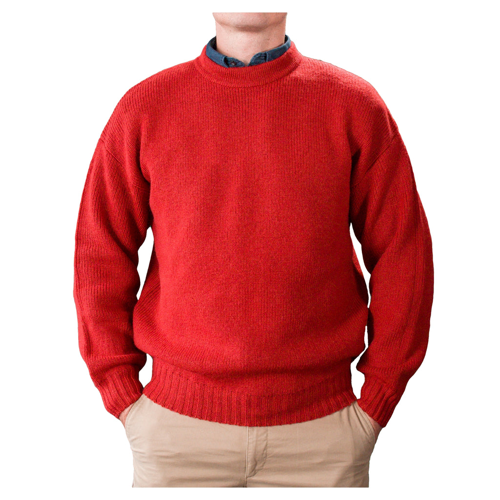 Pure-Wool-Crew-Neck-Berry