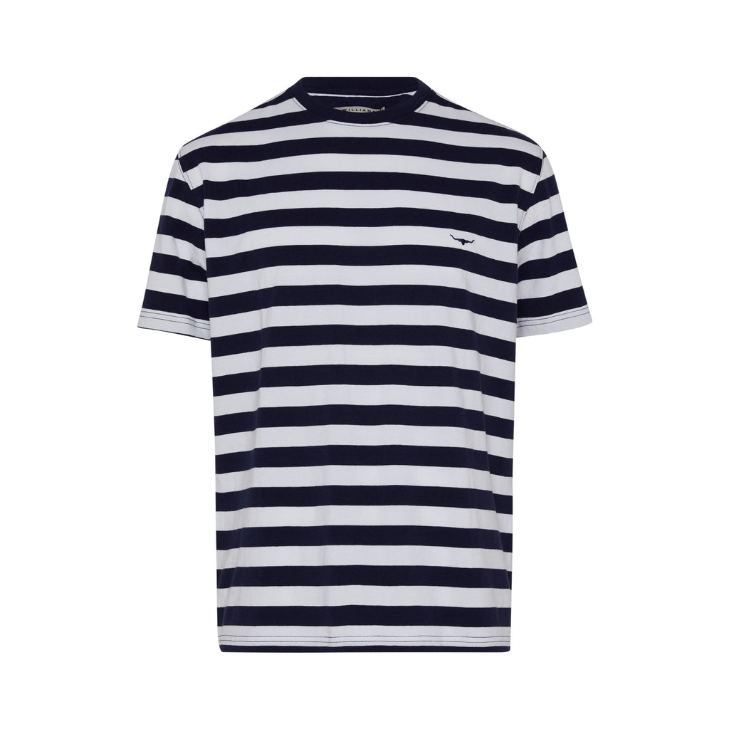 R-M-Williams-Parson-Stripe=T-shirt-Navy
