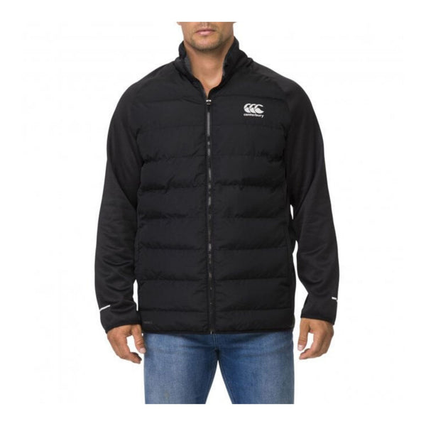 CANTERBURY-Thermoreg-Hybrid-PADDED-JACKET-BLACK