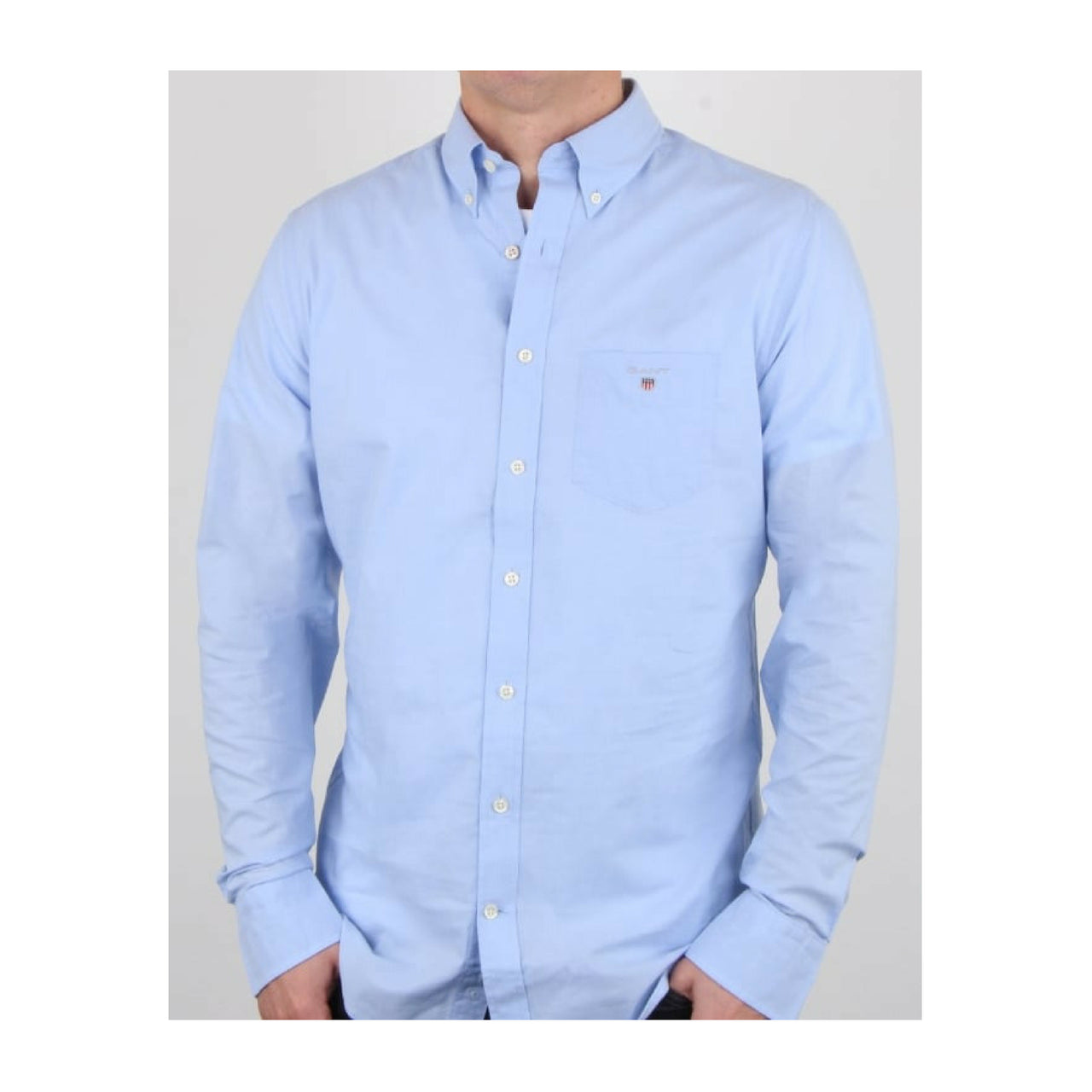 Gant-Oxford-Shirt-Blue