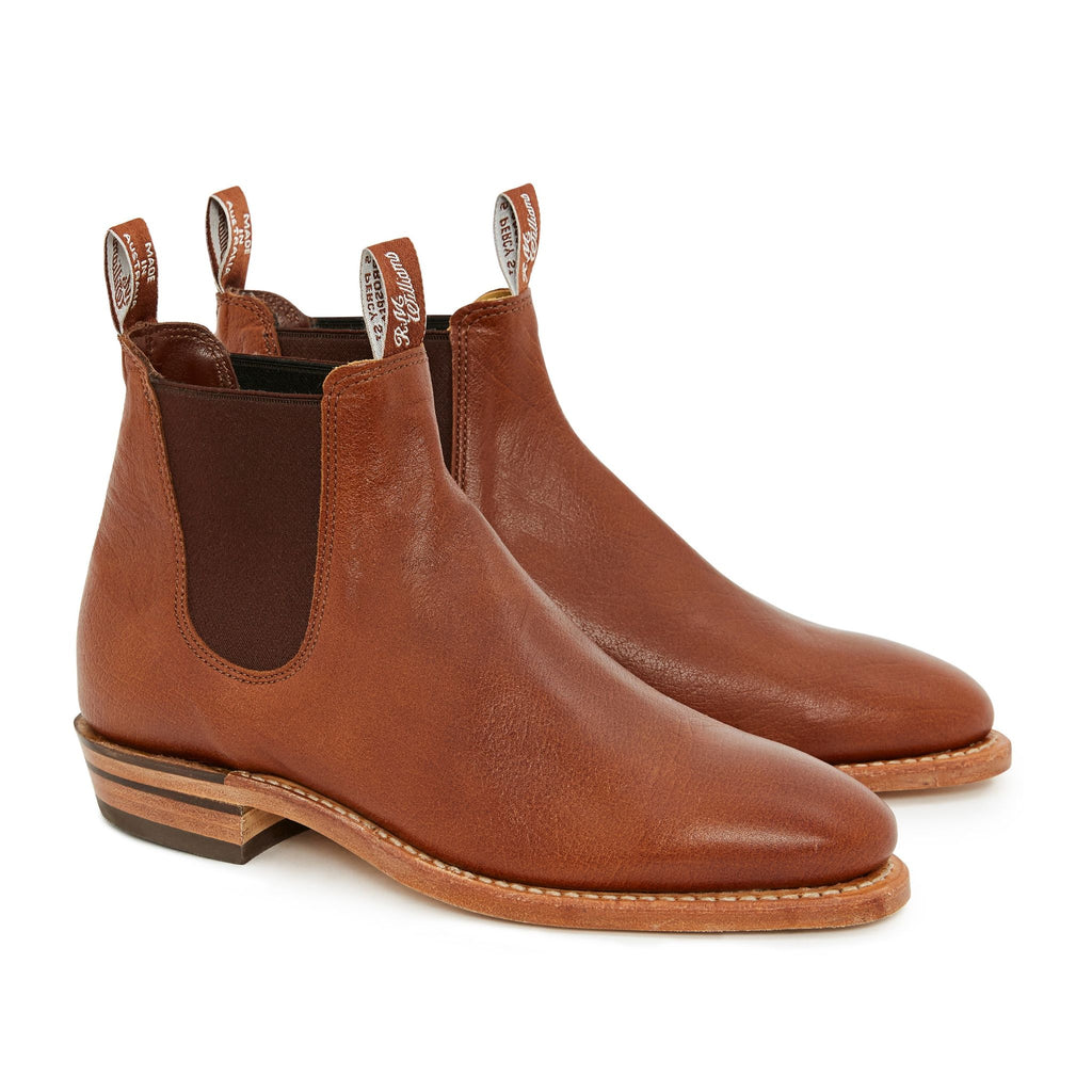 R-M-Williams-Adelaide-Tanbark- Kangaroo-Leather-Sole-Boot