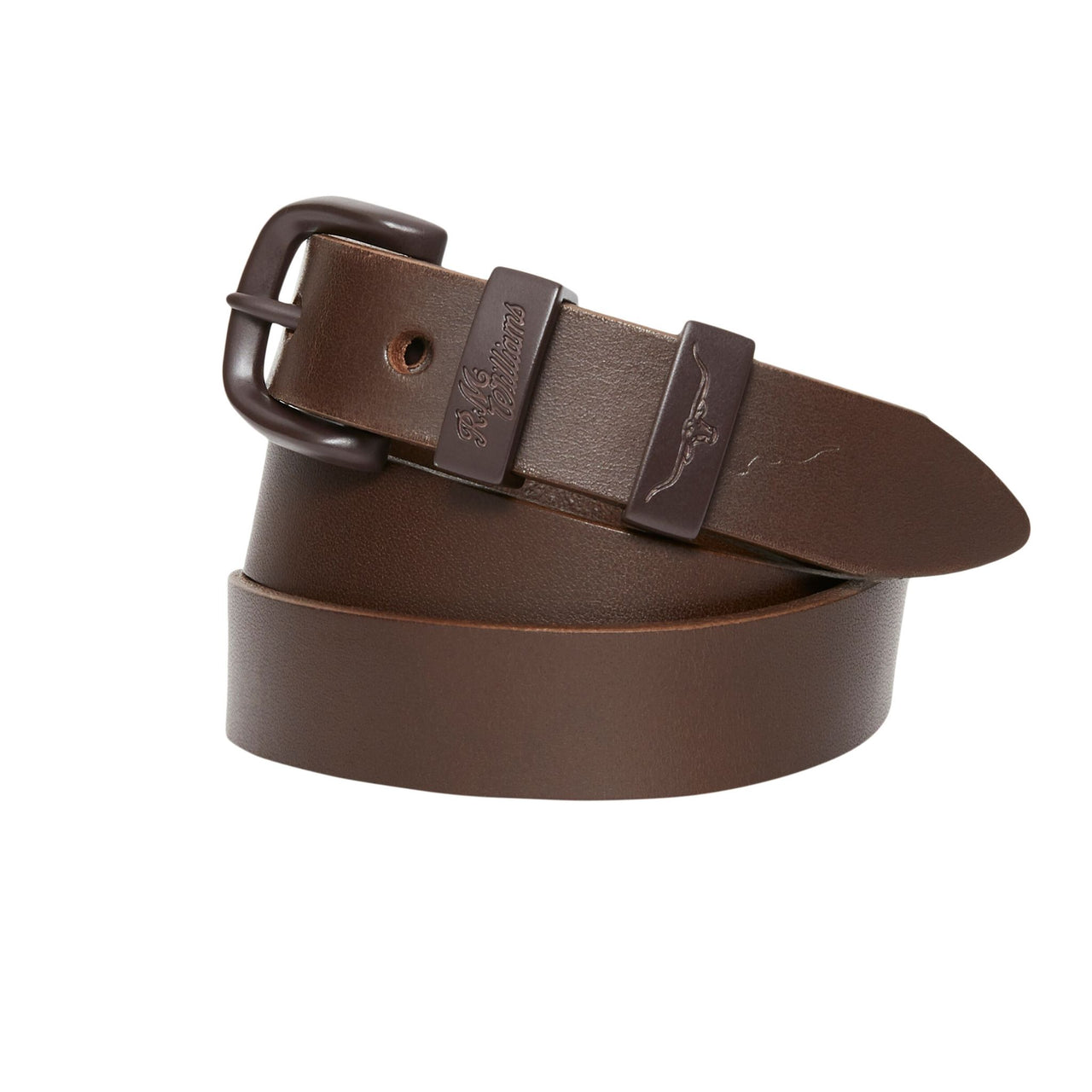 R-M-Williams-1-inch-Drover-Belt-Chocolate