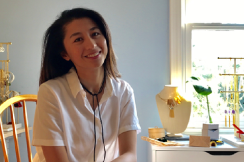 About Jessica Phan, Creative of Hathorway Horn Jewelry