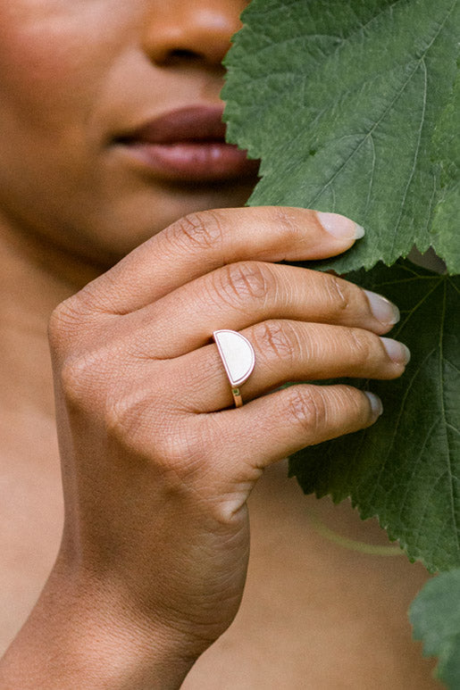 Hathorway Eco Friendly Sustainable Gold Rings